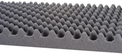Espuma aislante acustica tipo carton de huevo para ruido y sonido - Aislante acustico para paredes ...